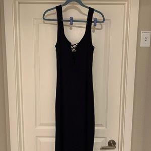 Bardot midi dress! Fun and flirty